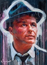 Frank Sinatra IV by Zinsky -  sized 35x48 inches. Available from Whitewall Galleries